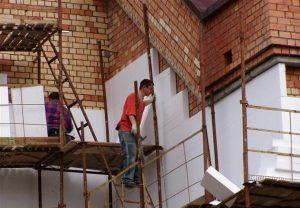 Теплоизоляция с помощью утепления фасадов