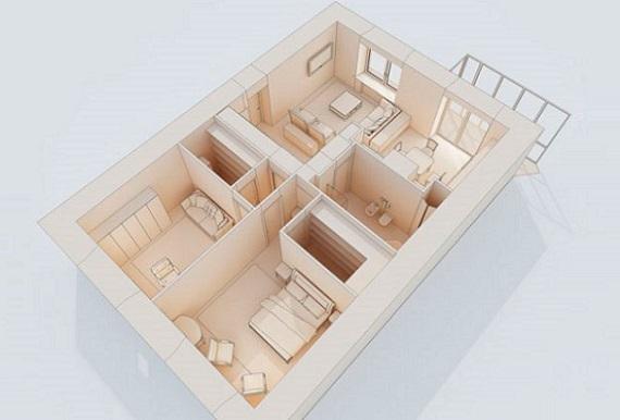 планировка комнаты онлайн