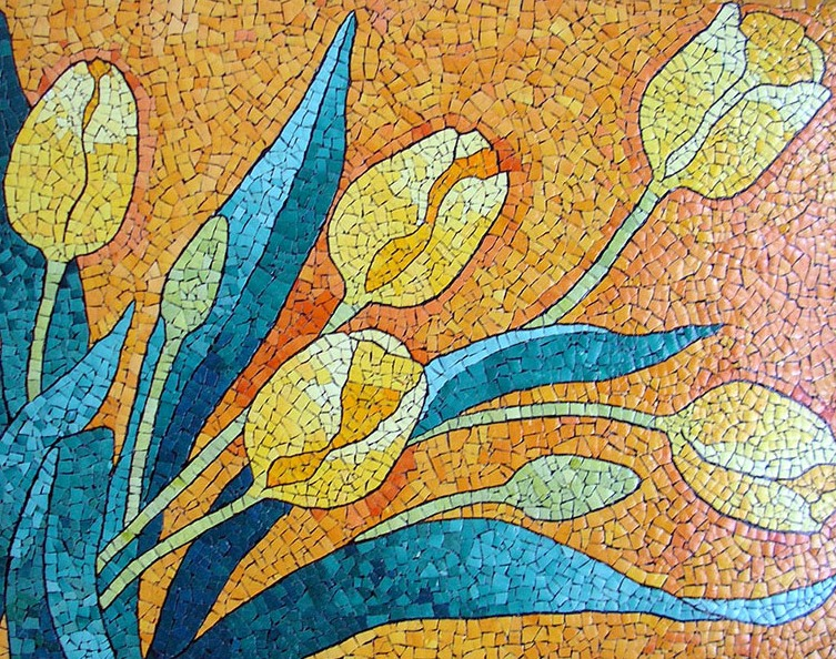 Мозаика из яичной скорлупы - высокорентабельный бизнес