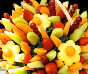 Идея заработка - фруктовый букет.