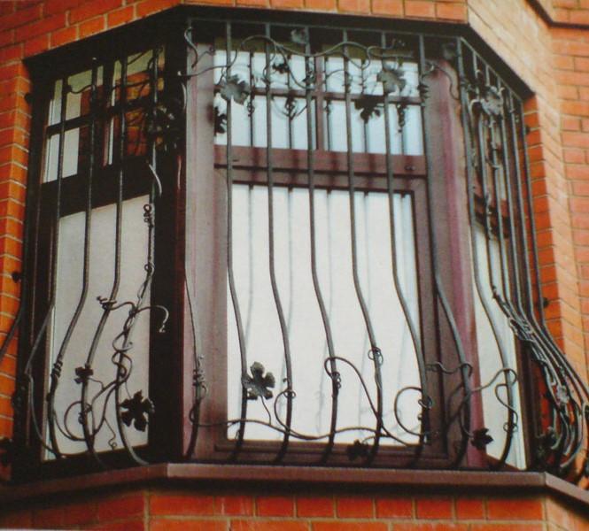 Кованные металлические решетки