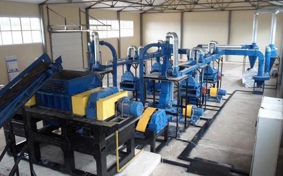 Мини-завод по переработке шин в крошку