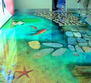 Наливные полы в Вашей квартире