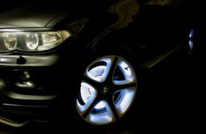 Светящаяся краска для дисков с наполнителями