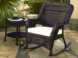 Экологически чистая плетеная мебель