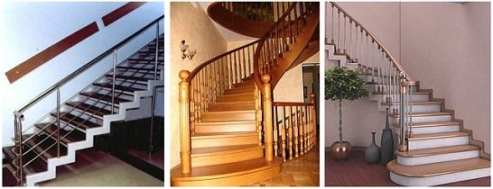 Изготовление лестниц из различного материала